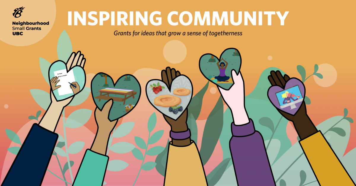 Inspiring Community. Grants for ideas that grow a sense of togetherness.