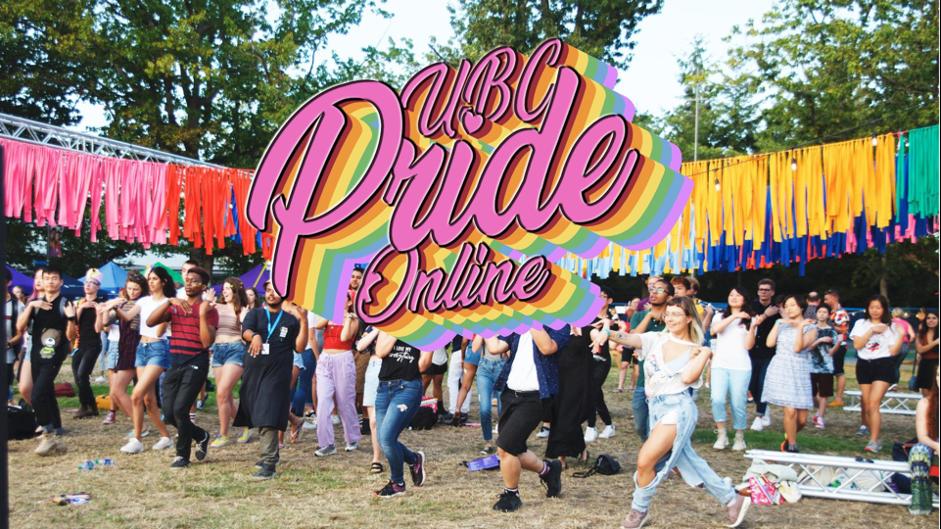 UBC Pride online